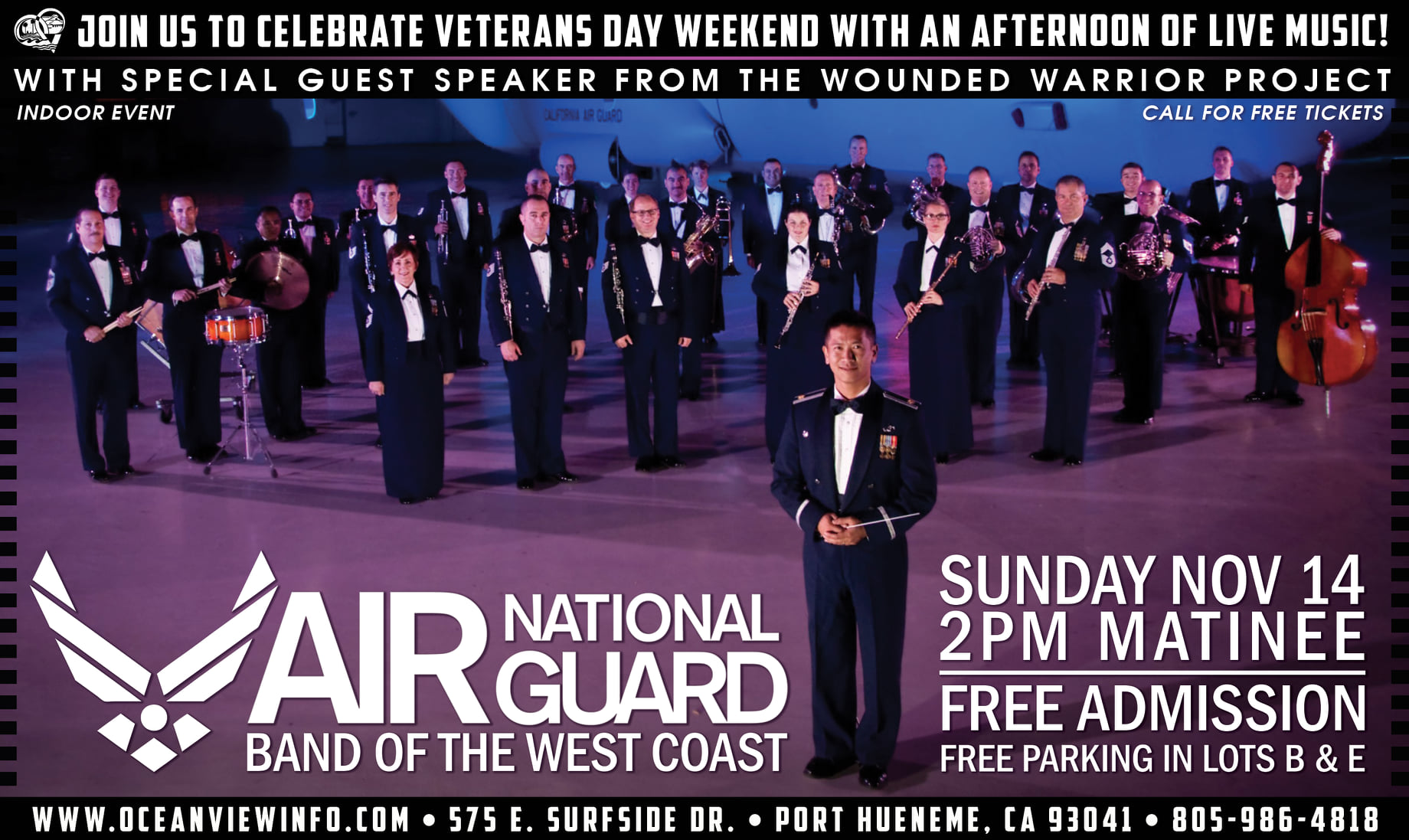 Air National Guard Bank of the West Coast 2021