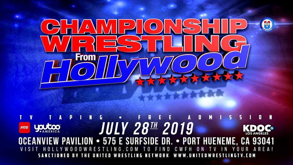 CWFH Television Event Sun July 28, 2019
