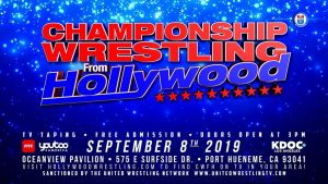 Championship Wrestling September 8 Oceanview Pavilion Port Hueneme