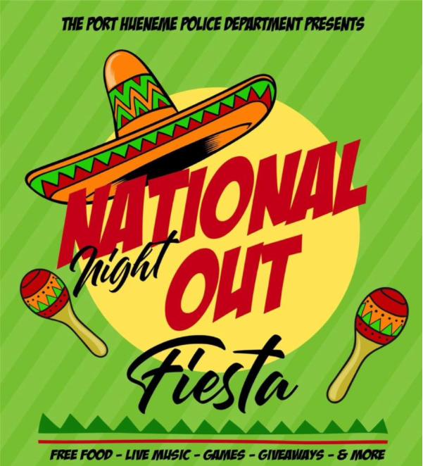 National Night Out Fiesta Style, presented by Port Hueneme PD