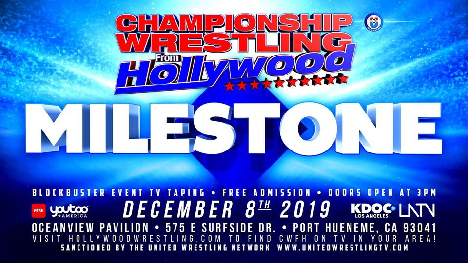 CWHF event flyer for December 2019