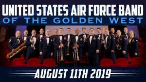 USAF Band of the Golden West August 2019